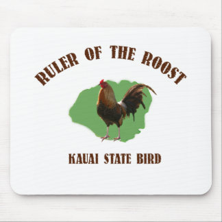 Ruler of the Roost Kauai State Bird Mouse Mat