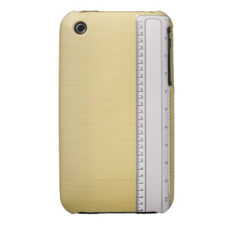 Ruler On Gold iPhone 3 Case-Mate Case