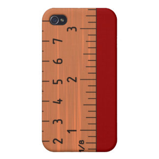 Ruler on the fly iPhone 4 case
