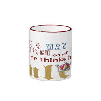 Ruler - Ringer Mug