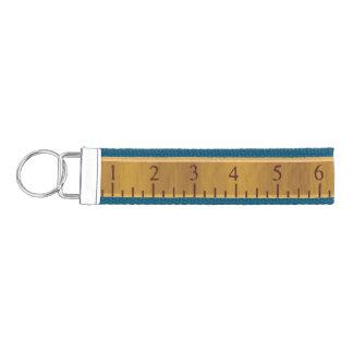 Ruler Wrist Key Chain