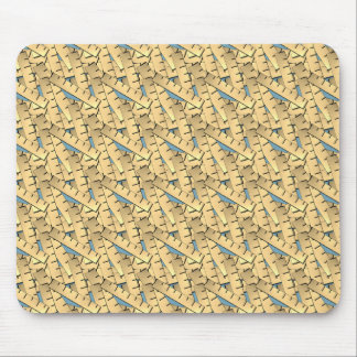 Rulers Pattern Mouse Pad