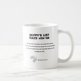 Rules #124-126 mug