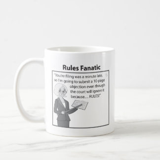 Rules Fanatic Coffee Mug