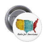 """""""Rules for Americans"""" USA Logo Button"""