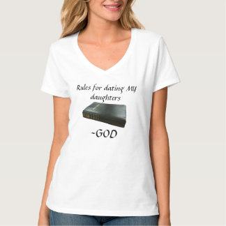 Rules For Dating GOD'S Daughters Tee Shirt