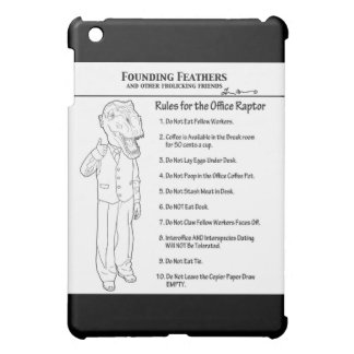 Rules for the Office Raptor iPad Mini Covers