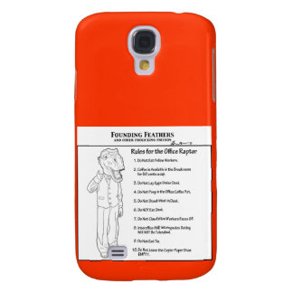 Rules for the Office Raptor Samsung S4 Case