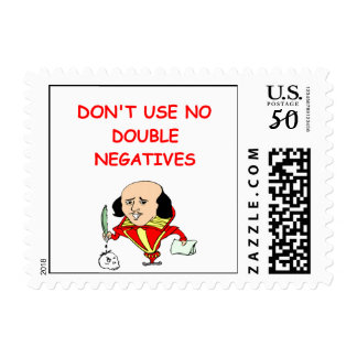 rules for writers postage stamp