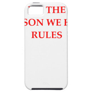 RULES iPhone SE/5/5s CASE