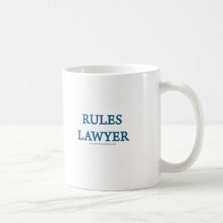 Rules Lawyer Coffee Mug
