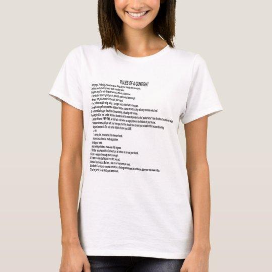 Rules Of A Gun Fight T-Shirt