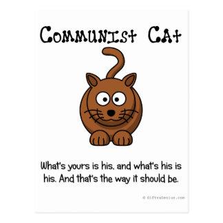 Rules of Communism Postcard