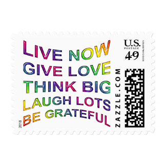Rules Of Life Postage Stamp