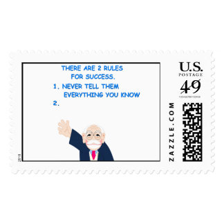 rules of success postage stamps