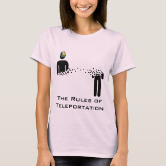 Rules of Teleportation Girl's top