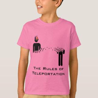 Rules of Teleportation kids T-Shirt