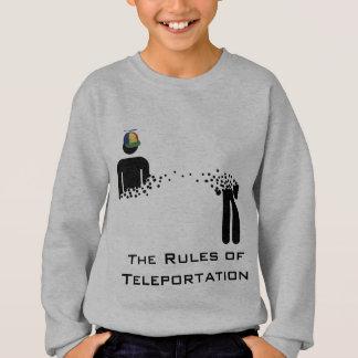 Rules of Teleportation windcheater Sweatshirt