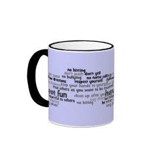 Rules of the House Ringer Mug