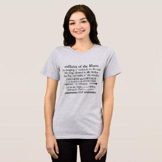 Rules of the Inn, 18th Century Innkeeper Sign T-Shirt