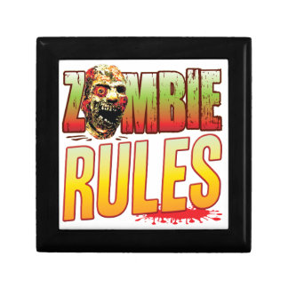 Rules Zombie Head Gift Boxes