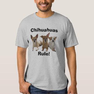 RuleT-Camisa de las chihuahuas Playeras