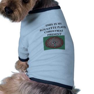 ruleta camisa de perro