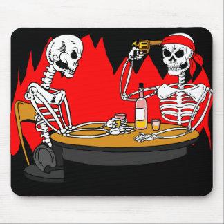 Ruleta rusa en el infierno Mousepad