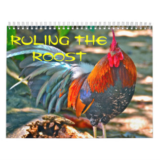 Ruling the Roost Calendar