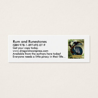 Rum and Runestones Skinny Cards