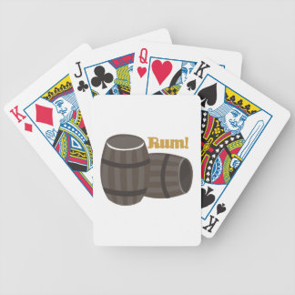 Rum! Bicycle Playing Cards
