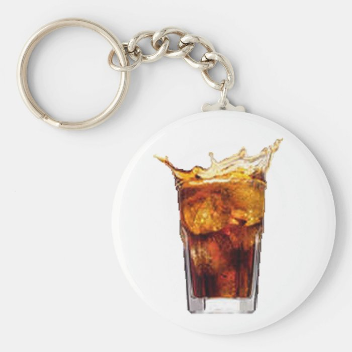 Rum & Cola Keychain