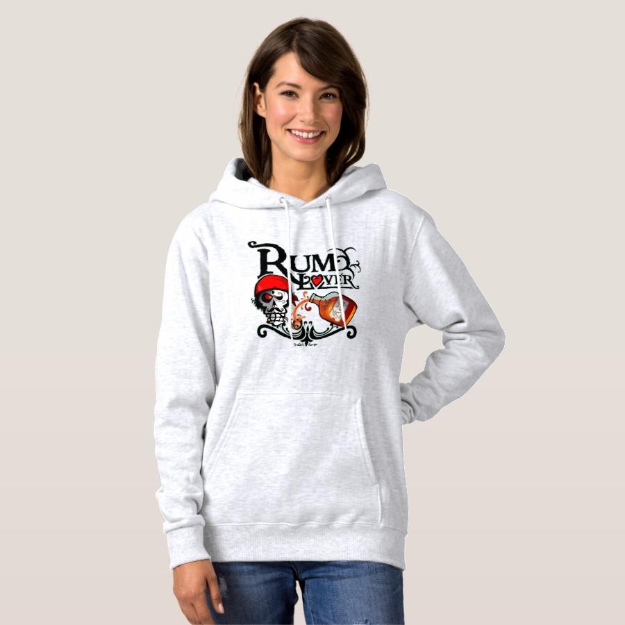 Rum curtain sweat hoodie - Creative Long-Sleeve Fashion Shirt Designs