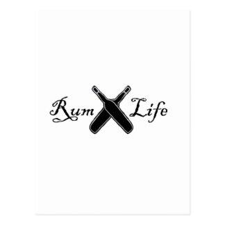Rum Life Postcard