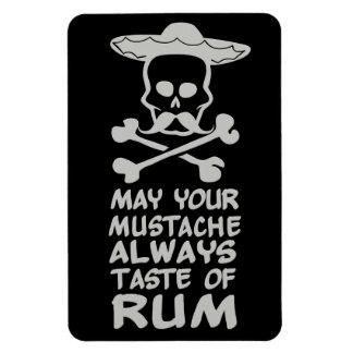 Rum Mustache custom color magnet
