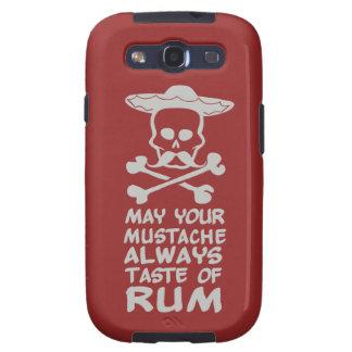 Rum Mustache custom color Samsung case Samsung Galaxy SIII Cover