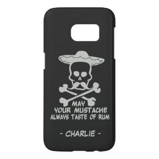 Rum Mustache custom monogram & color cases