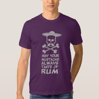 Rum Mustache custom shirt - choose style, color