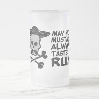 Rum Mustache mug - choose style, color