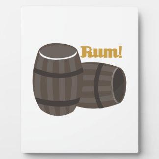 Rum! Plaque