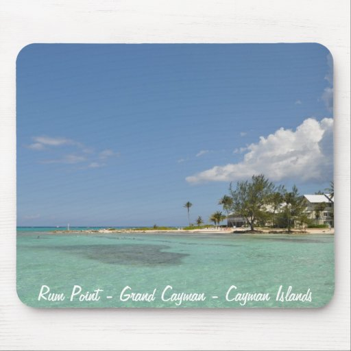 Rum Point - Cayman Islands Mousemat