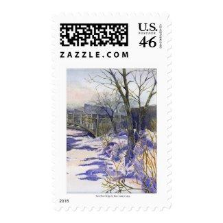Rum River Bridge stamp