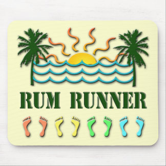 Rum Runner Mouse Pad