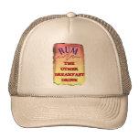 RUM, THE OTHER BREAKFAST DRINK TRUCKER HATS