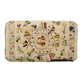 Rumal: square embroidery cover showing Punjabi dan iPhone 3 Cases