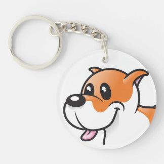 Ruman the Dog Keychain