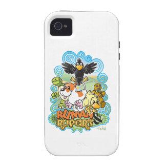 Ruman y escudo de Rupert Case-Mate iPhone 4 Carcasas