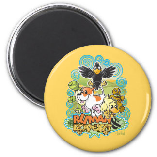 Ruman y escudo de Rupert Imán Redondo 5 Cm