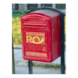 Rumania, caja del poste postales