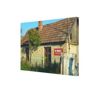 Rumania, casa del pueblo para la venta lona estirada galerías